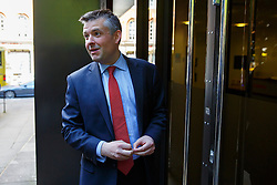 © Licensed to London News Pictures. 13/05/2015. LONDON, UK. Jon Ashworth MP attending Labour's National Executive Committee meeting to finalise leadership election arrangements at The Labour Party London Office on Wednesday, 13 May 2015. Photo credit : Tolga Akmen/LNP
