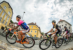 Bole Grega of Team Gorenjska, Pavlic Marko of Cycling Academy team during cycling race 48th Grand Prix of Kranj 2016 / Memorial of Filip Majcen, on July 31, 2016 in Kranj centre, Slovenia. Photo by Vid Ponikvar / Sportida