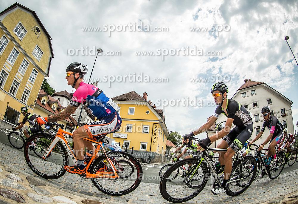 Bole Grega of Team Gorenjska, Pavlic Marko of Cycling Academy team during cycling race 48th Grand Prix of Kranj 2016 / Memorial of Filip Majcen, on July 31, 2016 in Kranj centre, Slovenia. Photo by Vid Ponikvar / Sportida