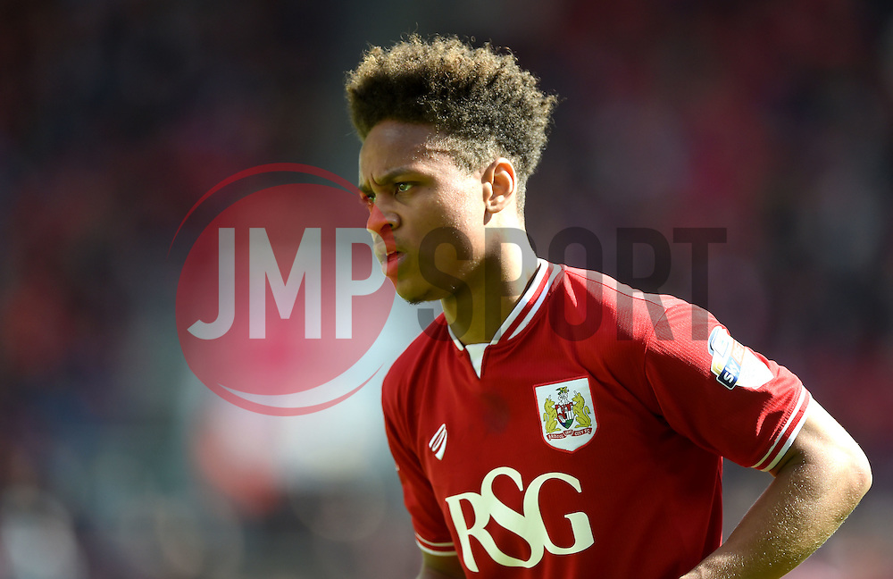 Bobby Reid of Bristol City  - Mandatory by-line: Joe Meredith/JMP - 30/04/2016 - FOOTBALL - Ashton Gate Stadium - Bristol, England - Bristol City v Huddersfield Town - Sky Bet Championship