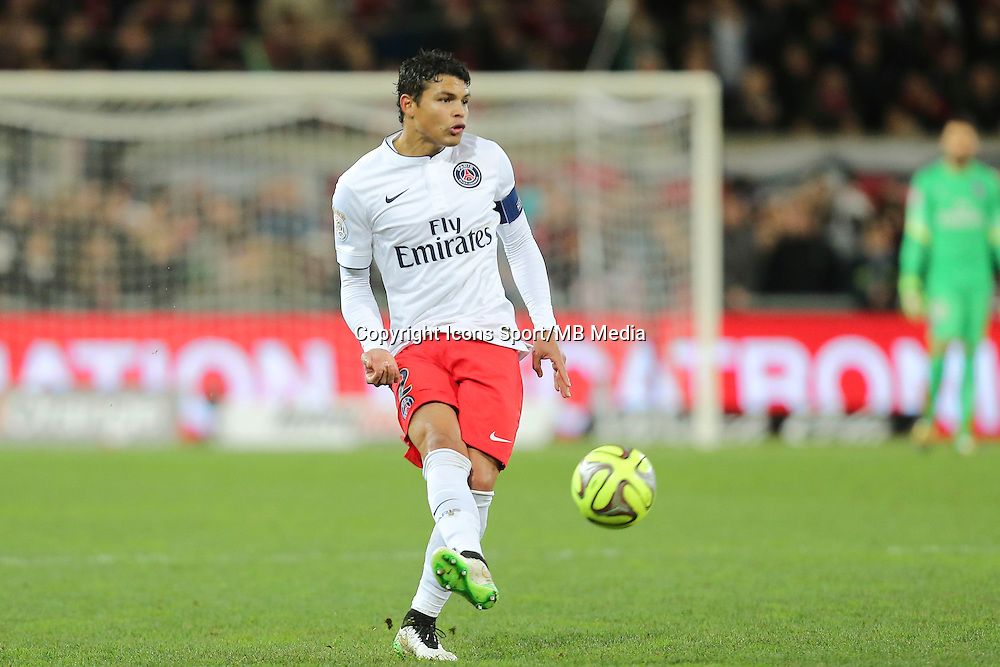 Thiago SILVA - 14.12.2014 - Guingamp / Paris Saint Germain - 18eme journee de Ligue 1<br />