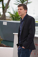 Actor Jesse Eisenberg at the Café Society film photo call at the 69th Cannes Film Festival Wednesday 11th May 2016, Cannes, France. Photography: Doreen Kennedy