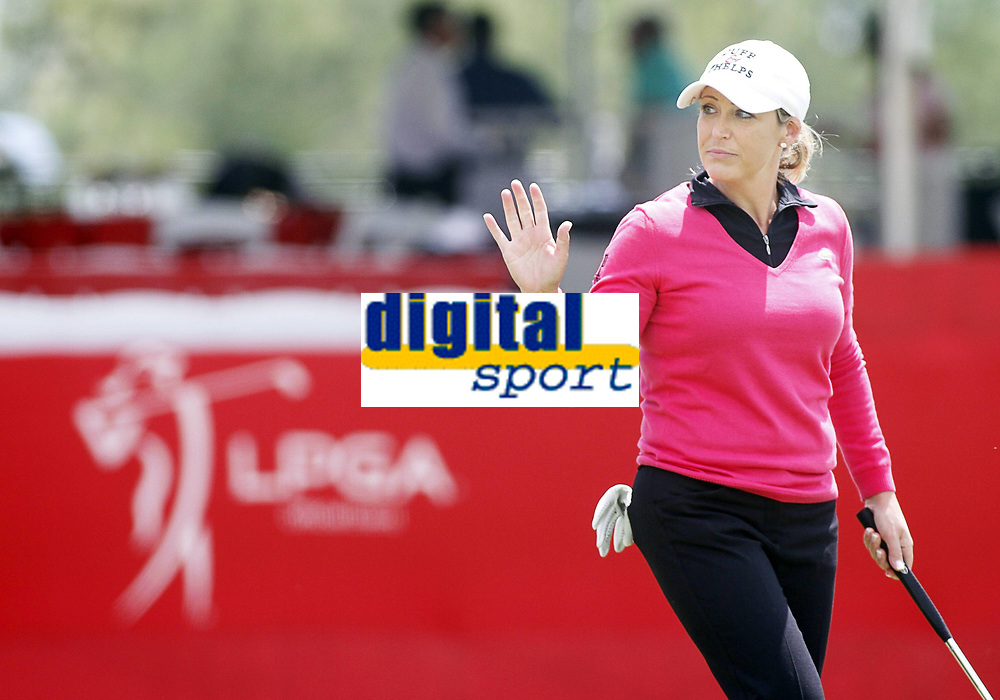 Bildnummer: 13465274  Datum: 25.04.2013  Copyright: imago/Icon SMI<br /> April 25, 2013: Cristie Kerr after her birdie putt on 18 during the first round of the North Texas LPGA Golf Damen Shootout played at Las Colinas Country Club in Irving, TX. GOLF: APR 25 LPGA Golf Damen - North Texas Shootout - First Round <br /> Norway only