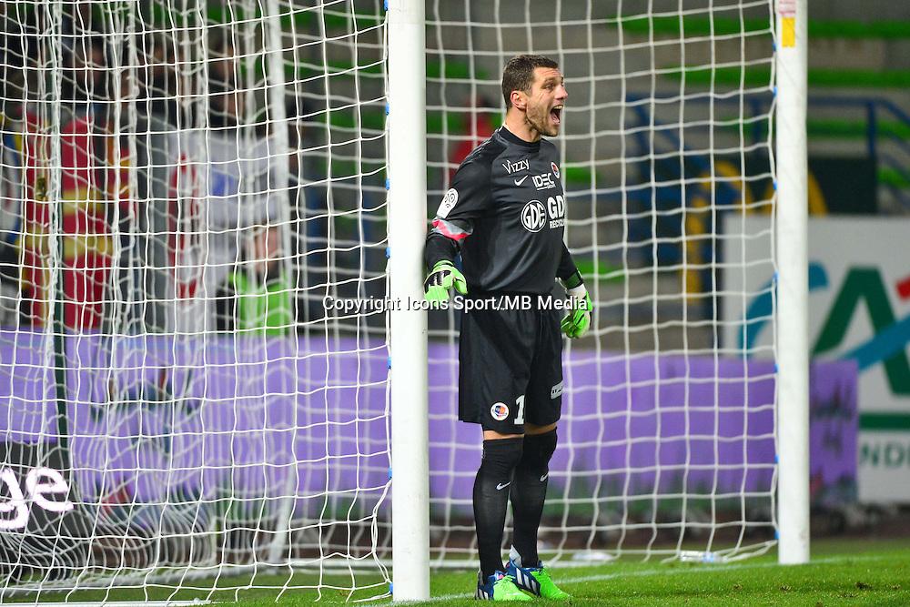 Remy VERCOUTRE - 06.12.2014 - Caen / Nice - 17eme journee de Ligue 1 -<br />Photo : Dave Winter / Icon Sport