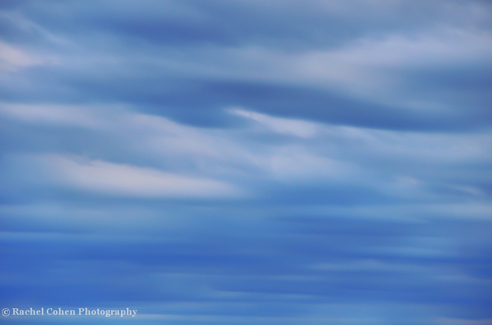 &quot;Serene&quot;<br /> <br /> Pure serenity. Wonderful calm, and peace!!<br /> That's the feeling you get from this lovely tonal blue, abstract cloud image!!<br /> <br /> Nature Abstracts by Rachel Cohen
