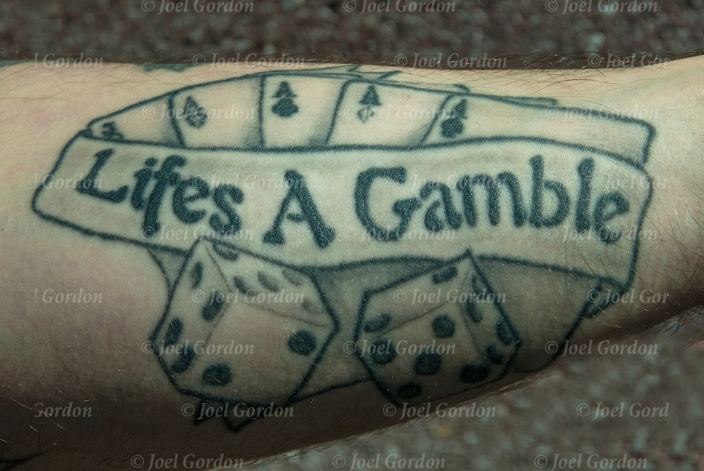 Lifes A Gamble Tattoo<br />