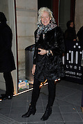 03.MARCH.2013. PARIS<br /> <br /> ELLEN VON UNWERTH ATTENDS THE DIESEL PARTY HELD IN THE GAITE LYRIQUE AS PART OF THE FALL-WINTER 2013/2014 READY-TO-WEAR FASHION WEEK IN PARIS.<br /> <br /> BYLINE: EDBIMAGEARCHIVE.CO.UK<br /> <br /> *THIS IMAGE IS STRICTLY FOR UK NEWSPAPERS AND MAGAZINES ONLY*<br /> *FOR WORLD WIDE SALES AND WEB USE PLEASE CONTACT EDBIMAGEARCHIVE - 0208 954 5968*