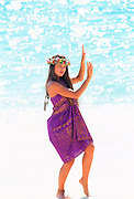 Hula Girl, Hawaii<br />