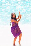 Hula Girl, Hawaii<br />