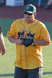 29 July 2017: Jason Isringhausen- Legends Baseball game sponsored by the Normal CornBelters at Corn Crib Stadium on the campus of Heartland Community College in Normal Illinois