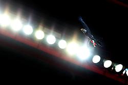 September 12, 2017 - Lisbon, Portugal - Benfica's eagle flies in the stadium before the UEFA Champions League football match SL Benfica vs CSKA Moscow at the Luz stadium in Lisbon, Portugal on September 12, 2017. Photo: Pedro Fiuza  (Credit Image: © Pedro Fiuza/NurPhoto via ZUMA Press)