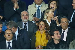 November 6, 2018 - Naples, Italy - SSC Napoli - Paris Saint-Germain : UEFA Champions League Group C .SSC Napoli chairman Aurelio De Laurentiis at San Paolo Stadium in Naples, Italy on November 6, 2018. (Credit Image: © Matteo Ciambelli/NurPhoto via ZUMA Press)
