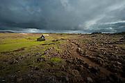 Hveravellir in north-west Iceland