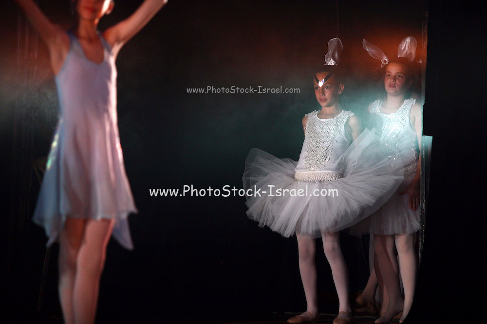 Young Children in a ballet performance