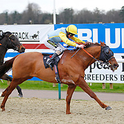 Billy Red and Joe Fanning winning the 2.15 race