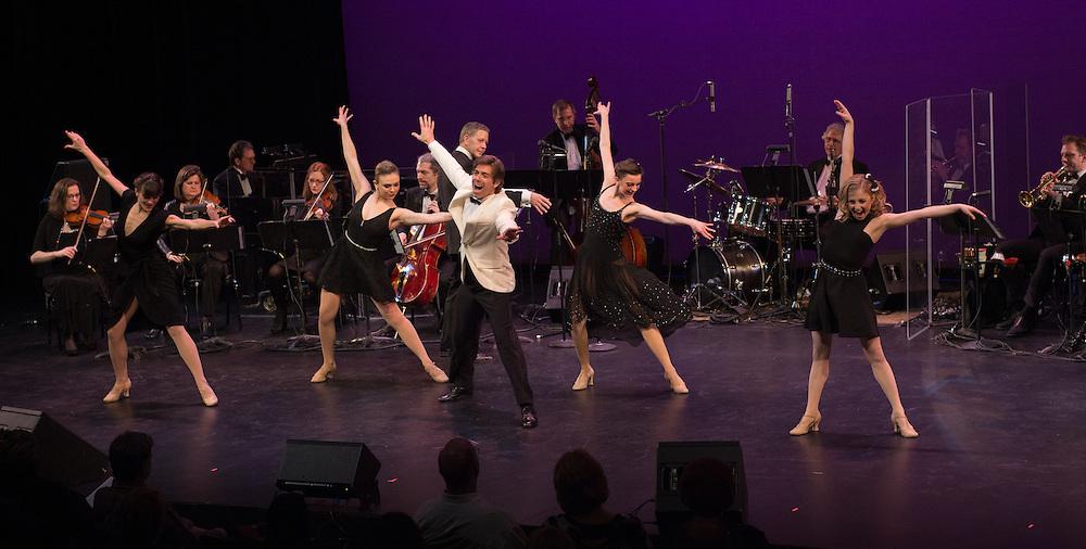 David Elder and dancers