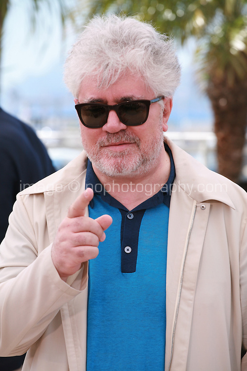 Pedro Almodovar at the photo call for the film Wild Tales (Relatos Salvajes) at the 67th Cannes Film Festival, Saturday 17th May 2014, Cannes, France.
