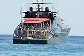 Cristiano Ronaldo on Boat in Ibiza