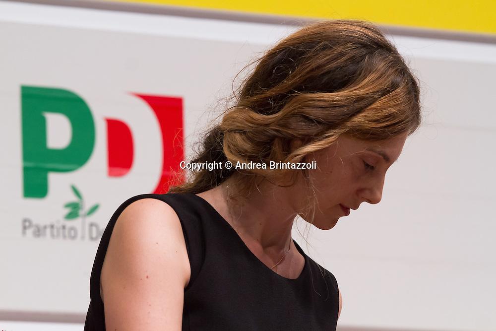 Bologna 04 Settembre 2014 - Festa de L'Unità. Mille giorni per il futuro - Dibattito: Sfida a burocrazia e sprechi. Nella foto Marianna Madia