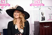 Stefanie Graf, tennis legend and Longines Ambassador of Elegance, helps judge the Longines Kentucky Oaks Day Fashion Contest, Friday, May 5, 2017, in Louisville, KY. Longines, the Swiss watch manufacturer known for its luxury timepieces, is the Official Watch and Timekeeper of the 143rd annual Kentucky Derby. (Photo by Diane Bondareff/AP Images for Longines)