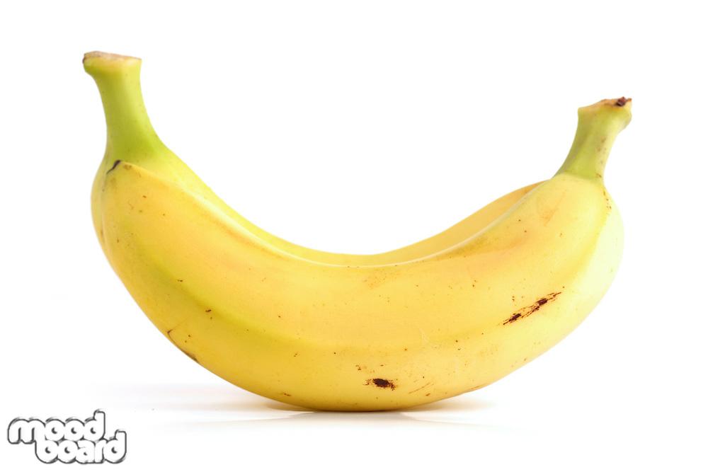 Studio shot of bananas on white bacground