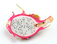 Studio shot of dragon fruit