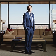 Jonathan Gray, head of Blackstone, 345 Park Avenue New York NY 10154, April 14th, 2016.<br /> Yvonne Albinowski/For Commercial Observer