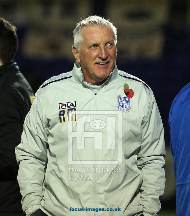 Picture by Paul Gaythorpe/Focus Images Ltd +447771 871632.07/11/2012.Tranmere Rovers manager Ronnie Moore during the npower League 1 match at Victoria Park, Hartlepool.