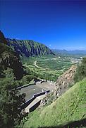 Nuuanu Pali Lookout, Nuuanu, Oahu, Hawaii, USA<br />
