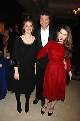 Left to right, CALLIE MOORE, JACK KIDD and LILY LEWIS at a dinner to promote the Holders Season in Barbados held at The Four Seasons Hotel, Hamilton Place, London W1 on 30th January 2008.<br /> <br /> NON EXCLUSIVE - WORLD RIGHTS (EMBARGOED FOR PUBLICATION IN UK MAGAZINES UNTIL 1 MONTH AFTER CREATE DATE AND TIME) www.donfeatures.com  +44 (0) 7092 235465