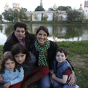 Family of Lucy Ward in Moscow, Russia