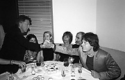 Dustin Hoffman, Sabrina Guinness, Alan Yentob and Mick Jagger.   Pre Bafta party jointly hosted by Tina Brown and Elizabeth Murdoch. St. Martin's Lane Hotel. 8 April 2000<br />© Copyright Photograph by Dafydd Jones 66 Stockwell Park Rd. London SW9 0DA Tel 010 7733 0108 www.dafjones.com