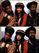 Black Uhuru New York photosession 1981 - Michael Rose, Duckie Simpson and Puma