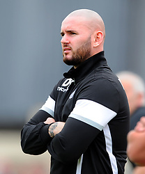 DAVID BELL MANAGER CORBY TOWN, Corby Town v Romulus Steel Park, Evo-Stick Northern Premier Division 1 South League, Saturday 12th August 2017