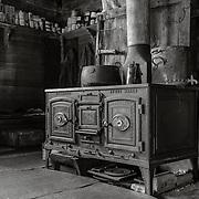Shackleton's coal burning stove