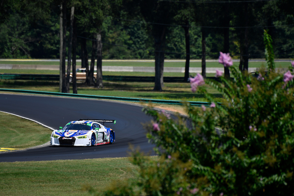 26-28 August, 2016, Alton, Virginia USA<br /> 9, Audi, R8 LMS GT3, GTD, Lawson Aschenbach, Matt Bell<br /> &copy;2016, Scott R LePage <br /> LAT Photo USA