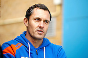 Shrewsbury Town FC manager Paul Hurst during the EFL Sky Bet League 1 match between Gillingham and Shrewsbury Town at the MEMS Priestfield Stadium, Gillingham, England on 28 January 2017. Photo by Andy Walter.
