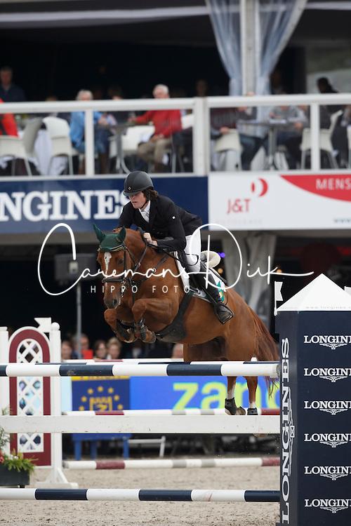 O Brien Thomas (IRL) - Mini Cruzano<br /> Final 6 years<br /> FEI World Breeding Jumping Championships for Young Horses - Lanaken 2014<br /> © Dirk Caremans