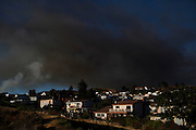 The California Department of Forestry and Fire Protection, Ventura city and county firefighters and county helicopters all helped put out the fire preventing it from spreading to near by homes and telecommunications equitpment.<br /> <br /> (Photo by Benjamin B. Morris &copy;2012)