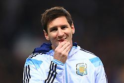 Nov. 18, 2014 - Manchester, United Kingdom - Lionel Messi of Argentina - Argentina vs. Portugal - International Friendly - Old Trafford - Manchester - 18/11/2014 Pic Philip Oldham/Sportimage(Credit Image: © Po/Sportimage/Cal Sport Media/ZUMAPRESS.com)