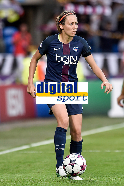 Sabrina Delannoy of  Paris Saint-Germain during the UEFA Women's Champions League Final between Lyon Women and Paris Saint Germain Women at the Cardiff City Stadium, Cardiff, Wales on 1 June 2017. Photo by Giuseppe Maffia.<br /> <br /> <br /> Giuseppe Maffia/UK Sports Pics Ltd/Alterphotos