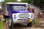 Truck in Playa Blanca, Holguin, Cuba.