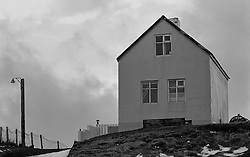 House at the island Grimsey, north of Iceland - Hús í Grímsey