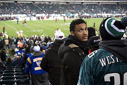 Football players of PIAA AAA State champions Imhotep Panthers and Pop Warner Midget Div. I National Champions NW Raiders got invited to see the December 26, 2015 NFC East Division game between Washington Redskins and Philadelphia Eagles at Lincoln Financial. 9photo by Bastiaan Slabbers)