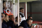 U21 Newcastle United head coach Peter Beardsley during the Barclays U21 Premier League match between U21 Brighton and Hove Albion and U21 Newcastle United at the Checkatrade.com Stadium, Crawley, England on 23 March 2016.