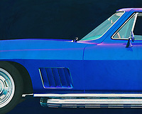 If you want to give your interior an extra stylish detail, this painting by a 1967 Chevrolette Corvette Stingray 427 is perfect. –<br />