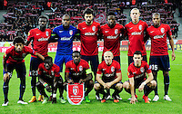 Equipe Lille - 11.12.2014 - Lille / Wolfsbourg - Europa League<br />