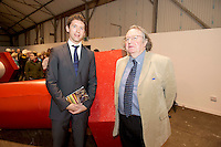 It was a season of firsts that Music for Galway&rsquo;s new artistic director, international concert pianist Finghin Collins unveiled at the Shed at Galway Docks on Monday night. At this unusual venue, he presented an exciting programme that includes a great variety of musical delights to intrigue and attract devoted music-lovers and newcomers alike for the MUSIC FOR GALWAY 33RD  SEASON.  Music for Galway&rsquo;s new artistic director, international concert pianist Finghin Collins and Galway City's Arts Officer James Harrold  were at the Shed at Galway Docks for the launch.<br /> <br /> Music for Galway have honoured Finghin&rsquo;s predecessor Jane O&rsquo;Leary by commissioning her to write a solo piano piece which will be premiered by Korean pianist Ah Ruem Ahn on November14th.  There is also the Irish premiere, on October 30th, of Ian Wilson&rsquo;s &ldquo;The Little Spanish Prison&rdquo; by David Cohen and Sasha Grynyuk. Both composers will be present to introduce their works on the night. Picture:Andrew Downes.