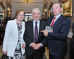 An Taoiseach Enda Kenny TD pictured attending the Bar of Ireland Conference in Westport with Attorney General, Ms Maire Whelan SC and David Nolan SC, Chairman of the Bar of Ireland.<br />Pic Conor McKeown