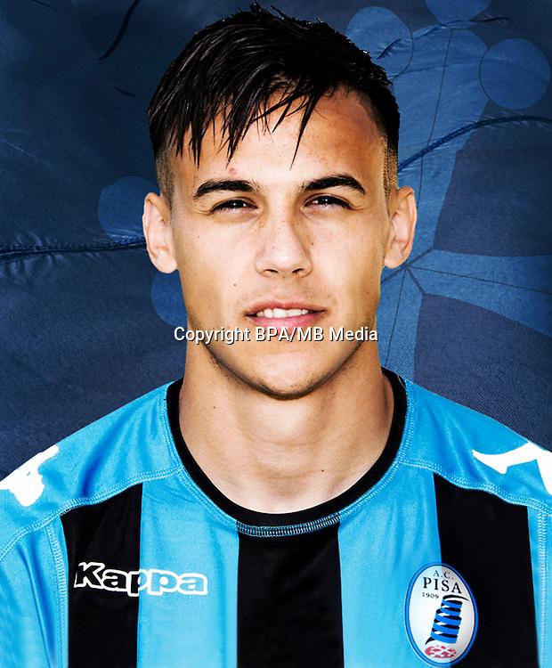 Italian League Serie B -2016-2017 / <br /> ( A.C. Pisa 1909 ) - <br /> Ignacio Lores Varela